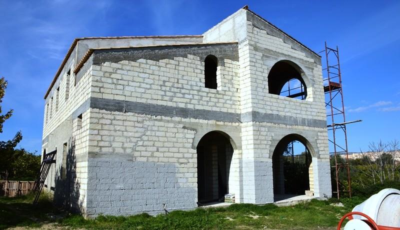 Villa-da completare-a-Noto-prospetto