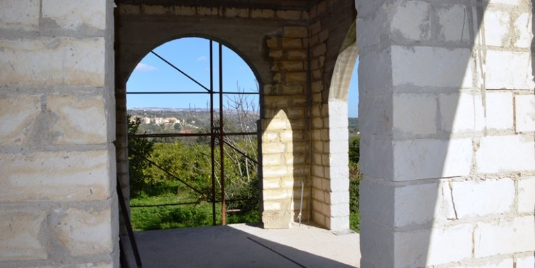 Villa-da completare-a-Noto-veranda