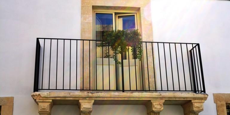 A Noto casa vacanza Nonna Maria, balcone