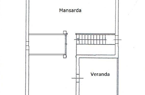 Villetta in vendita a Lenzavacche, mansarda